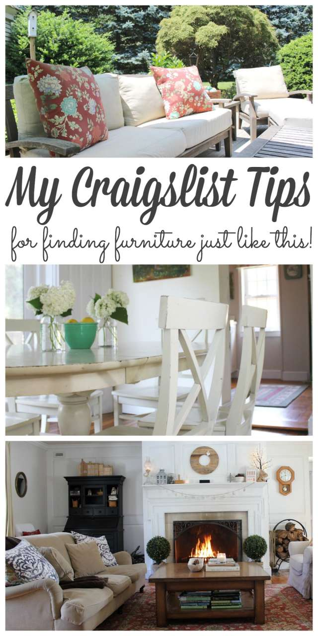 Craigslist Tips Pin - Lehman Lane