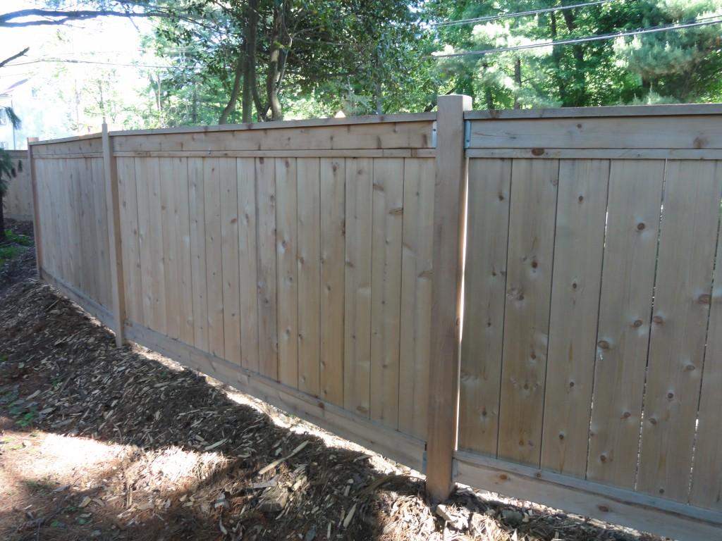 How To Build A Fence Diy Custom Cedar Privacy Fence