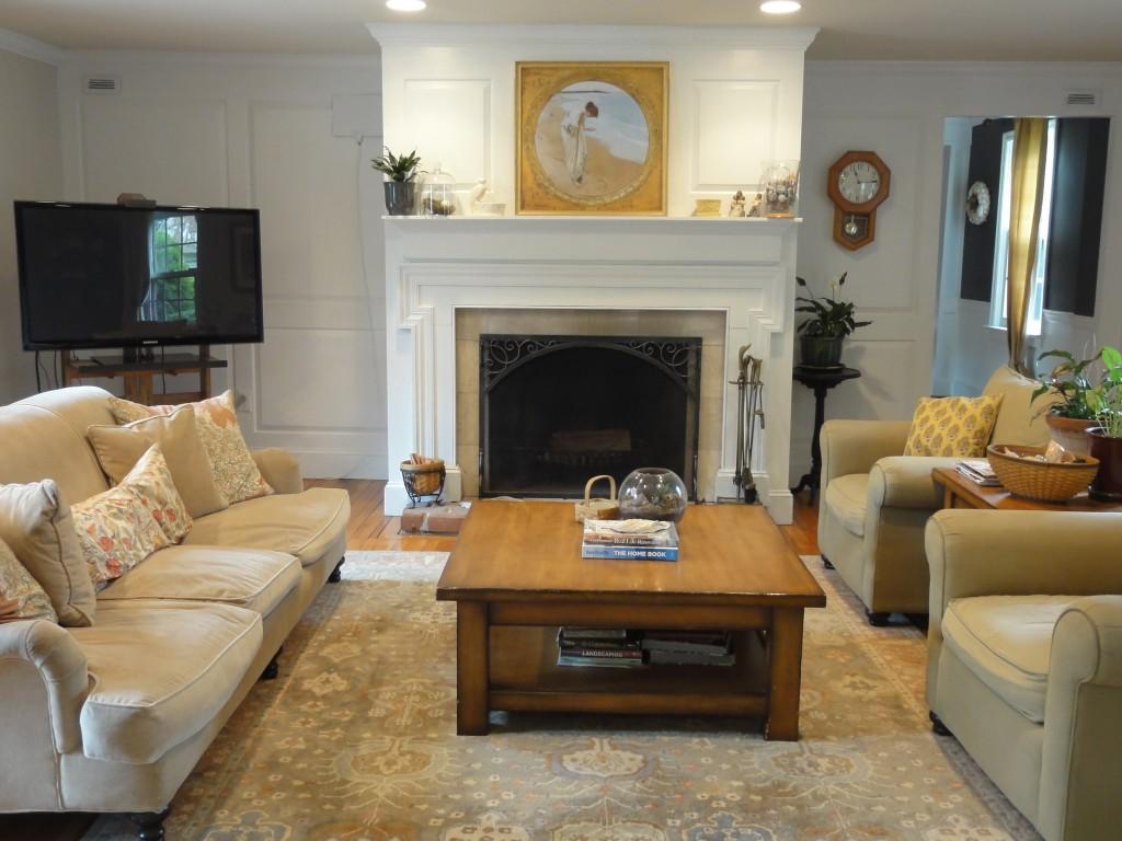 Living Room Refresh - Paint Goes A Long Way - lehmanlane.net