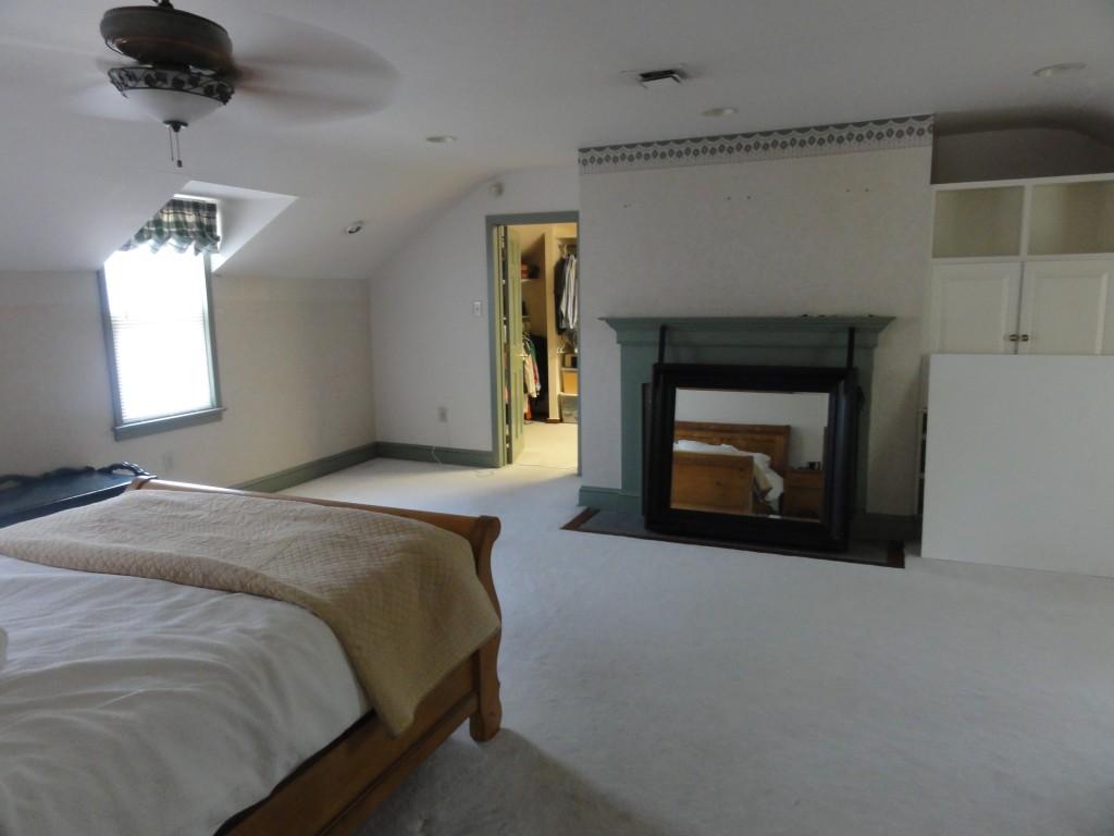 Master bedroom closets part ii diy custom closets on a for Master bedroom closet