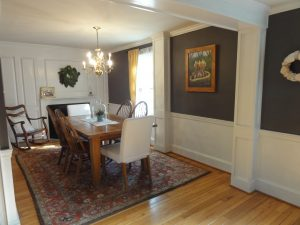 Dining Room Paint makeover