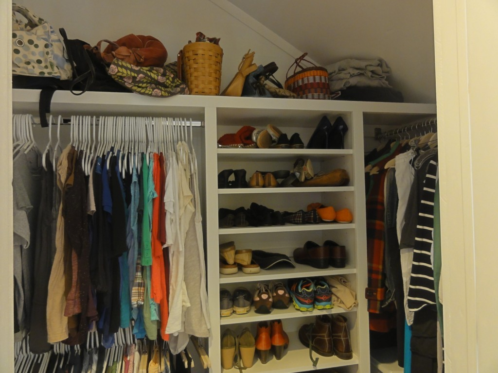 Master Bedroom - Custom Closets on a Budget