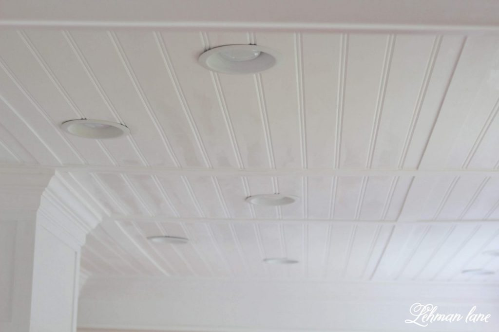 Paint Recessed Light Trim How to Paint Recessed Lights - Did you know you can spray paint recessed lights?!  It is a simple and inexpensive way to update recessed lights and help make them look great! #recessedlights http://lehmanlane.net