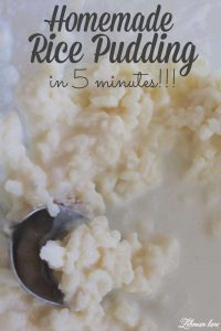 Looking for a crazy simple comfort food recipe? This is it, my Mom-Mom's homemade rice pudding recipe! #recipes http://lehmanlane.net