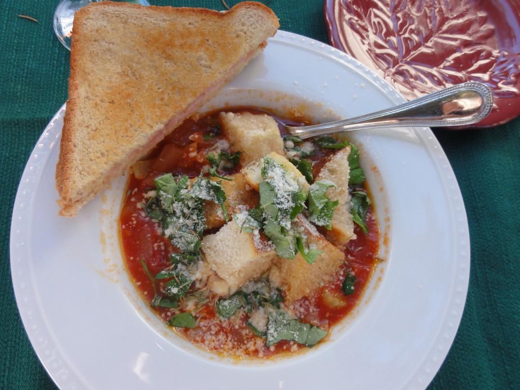Homemade Tomato Bread Soup - Lehman Lane