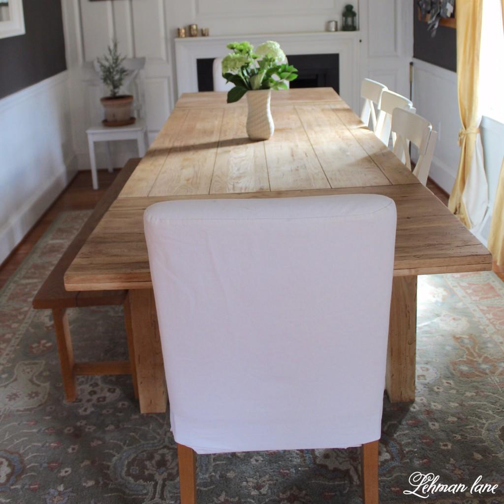 Diy farmhouse table...restoration hardware inspired farmhouse ...