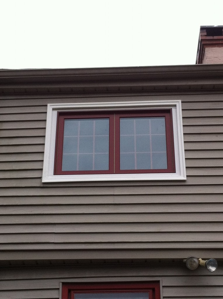 How to Add an Old Window to a New House - Tucker's Window