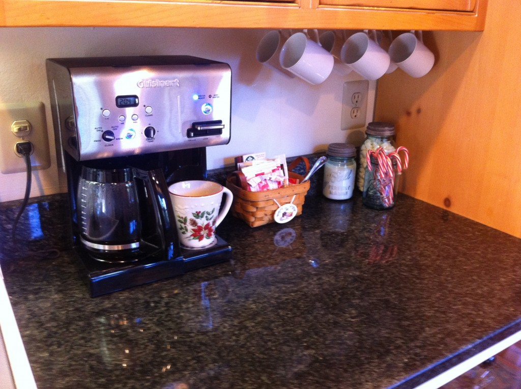 My New Coffee / Tea / Hot Chocolate Station