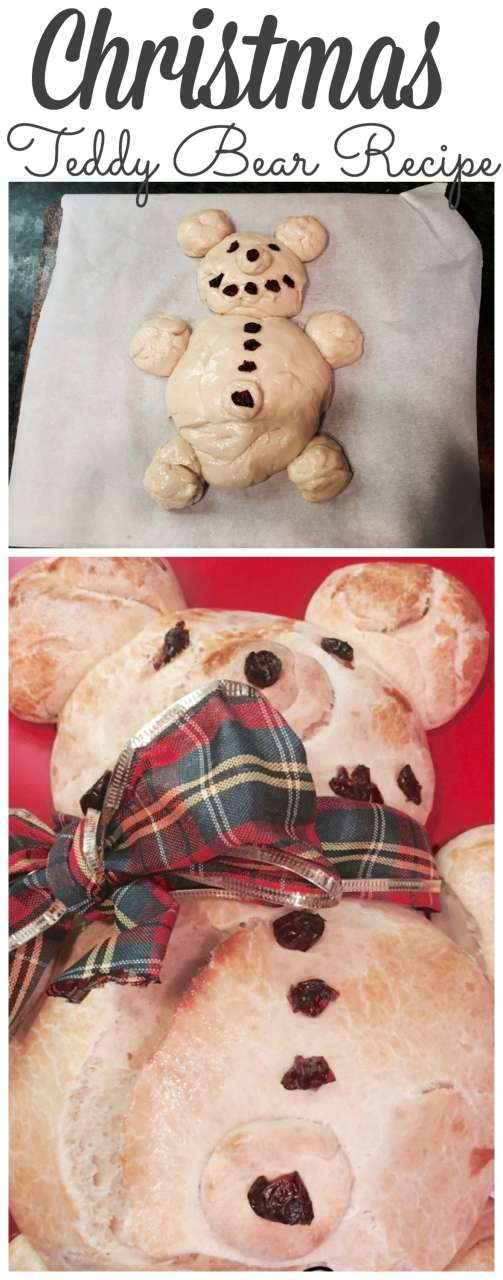 One of our family's favorite Christmas Recipes is Teddy Bear Bread. Stop by for the recipe! #christmasrecipes http://lehmanlane.net