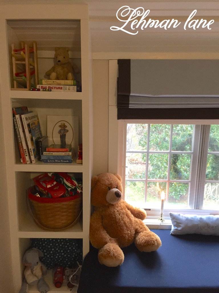 How to Make a Built in Bookcase and Window Seat - Tucker's Room