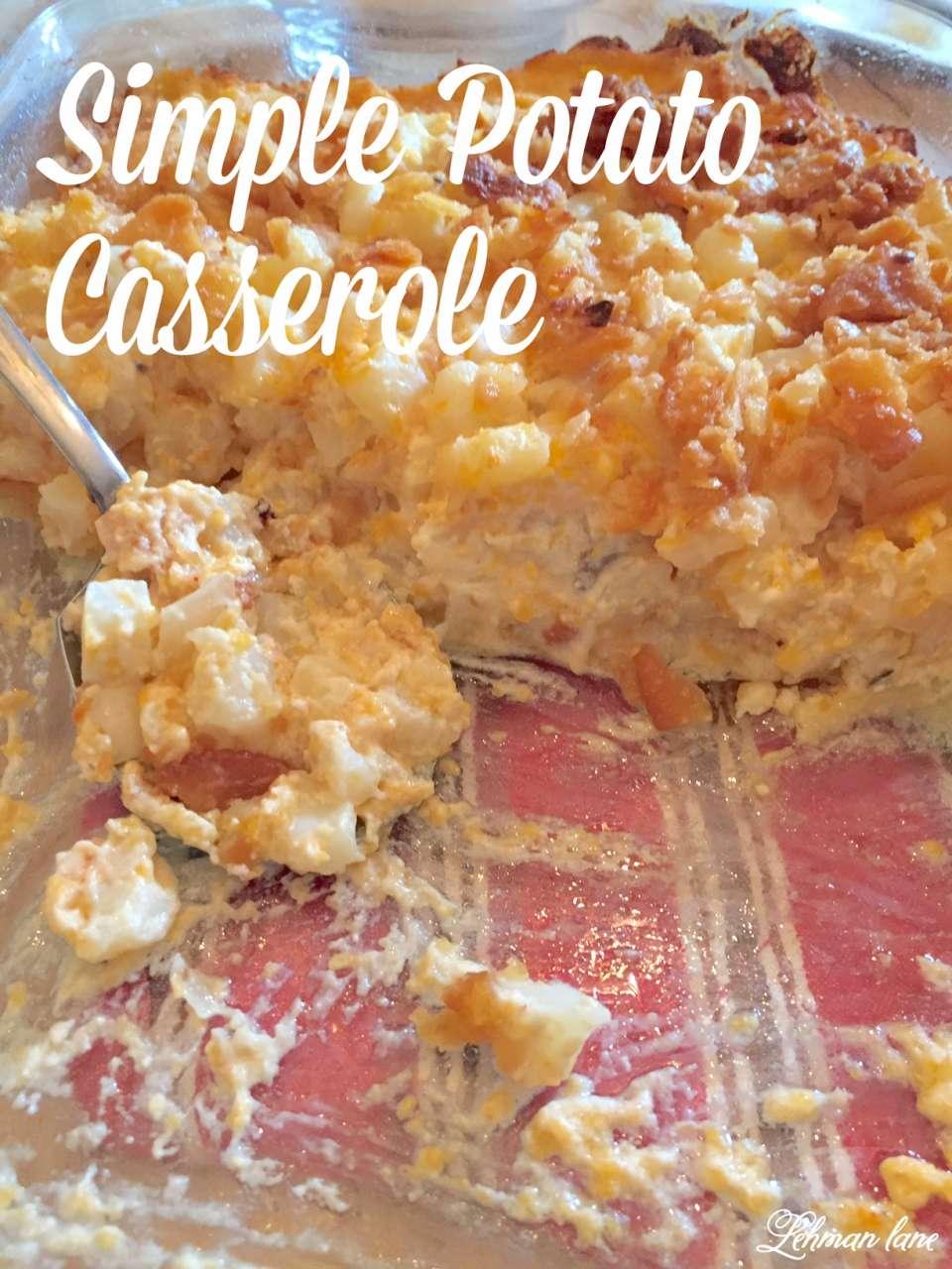 Potato Caserole Recipe
