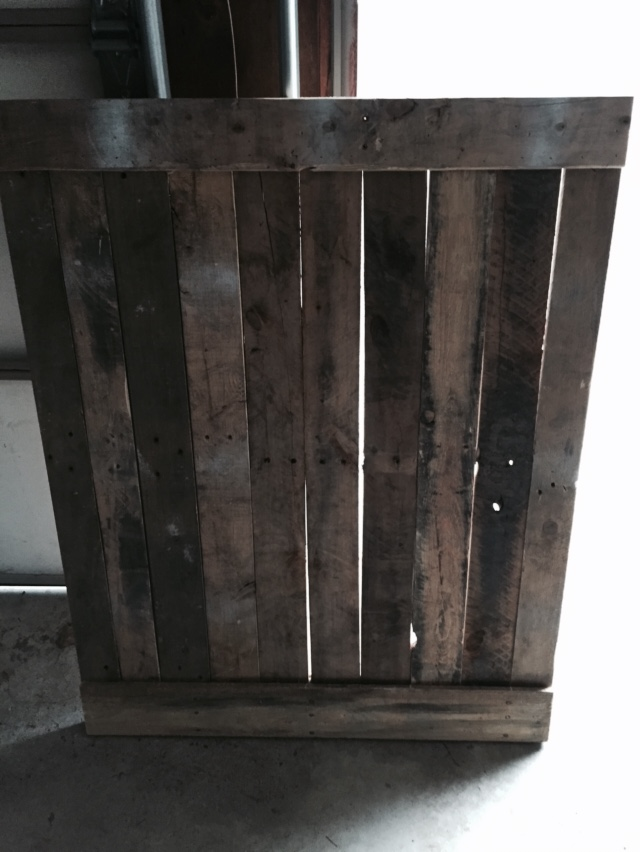Pallet Sliding Barn Door - Lehman Lane