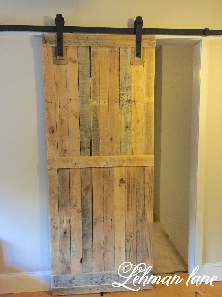 Cupboards Made From Pallets Diy Pallet Sliding Barn Door Lehman Lane
