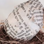 How to Make Book Page Easter Eggs