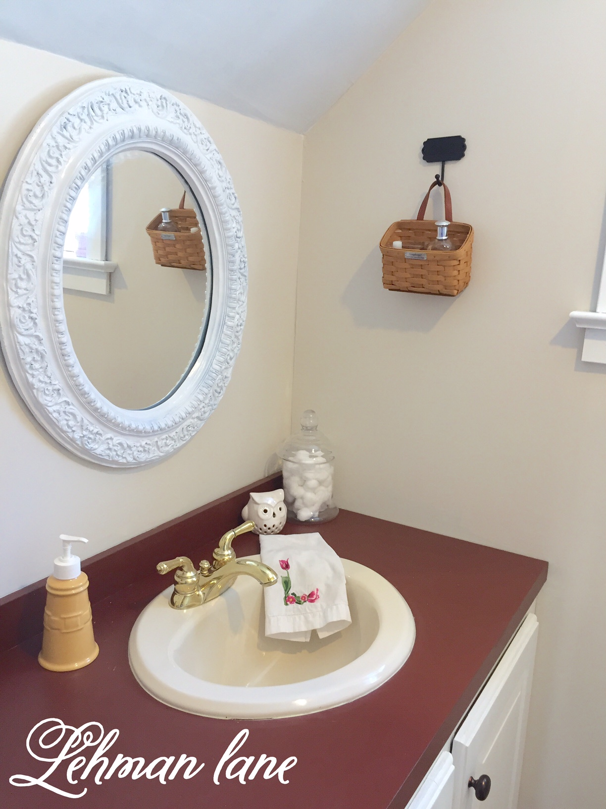 Powder Room Reveal Part II