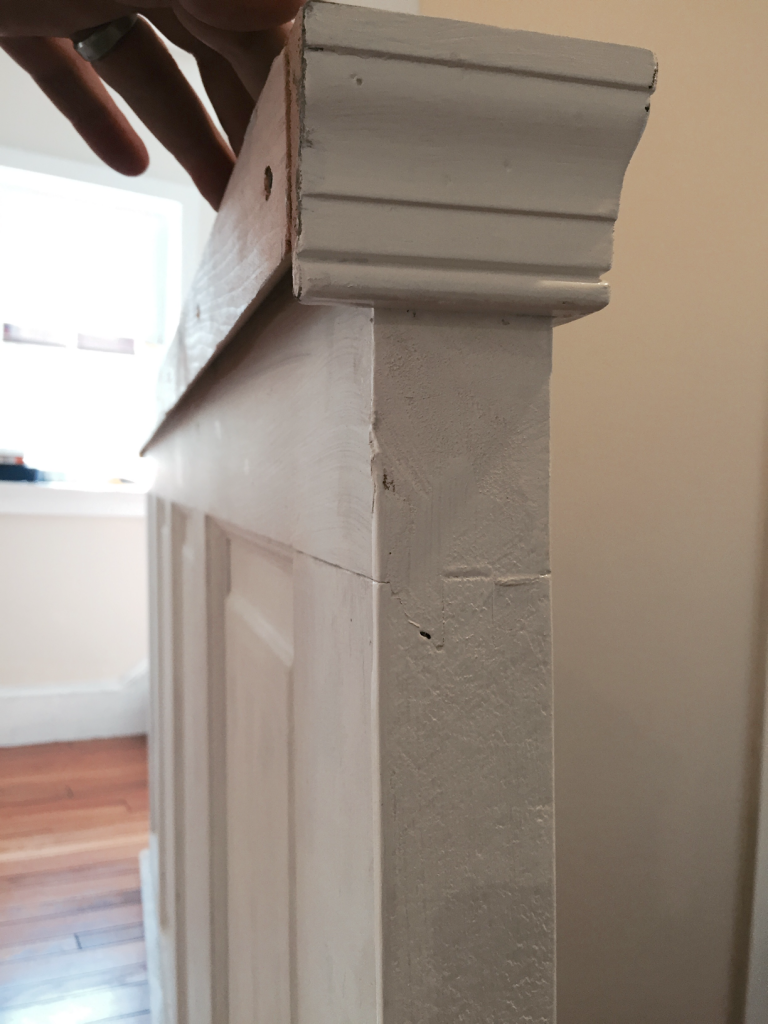 DIY: Old door into a Coat Rack