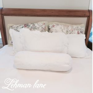 Our Reupholstered Headboard