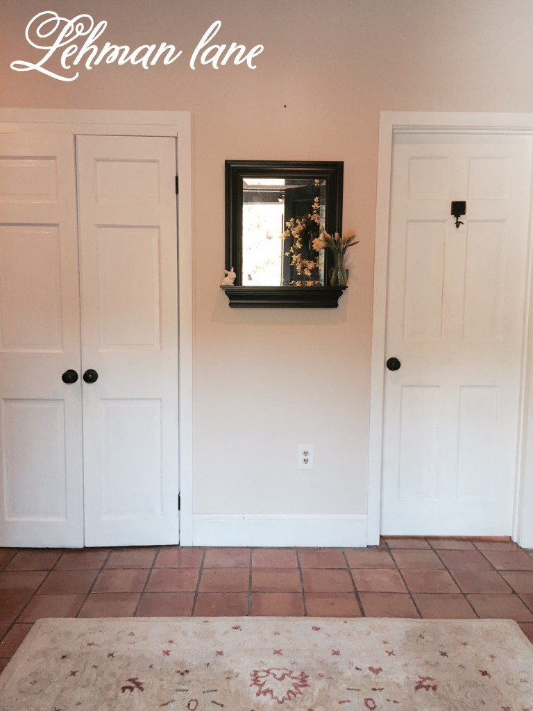 Our Entryway/ Foyer