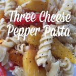 Three Cheese Pepper Pasta Recipe