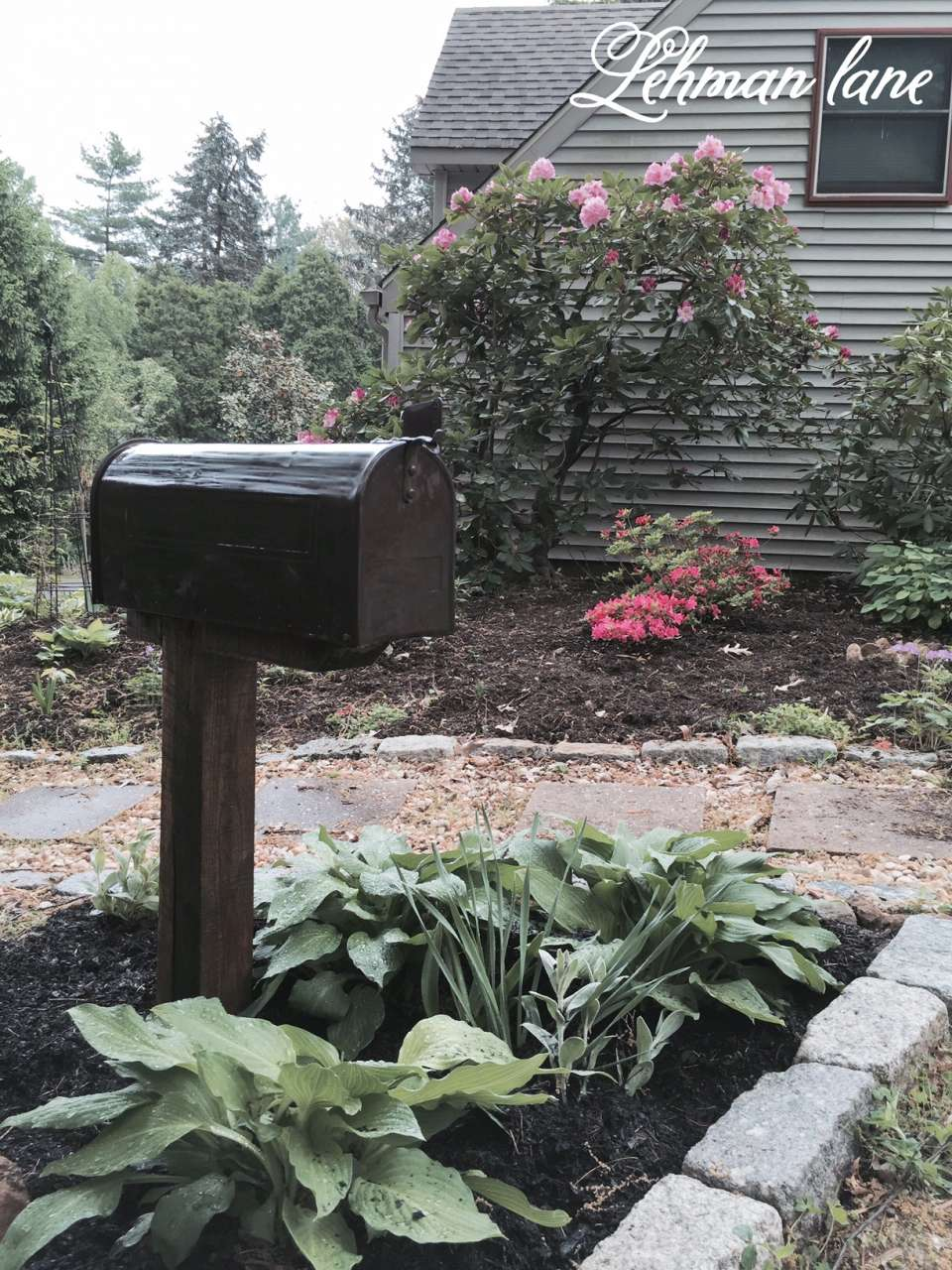 My Shady Mailbox Garden   For Storing My Garden Tools