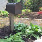 My Shady Mailbox Garden - For Storing My Garden Tools