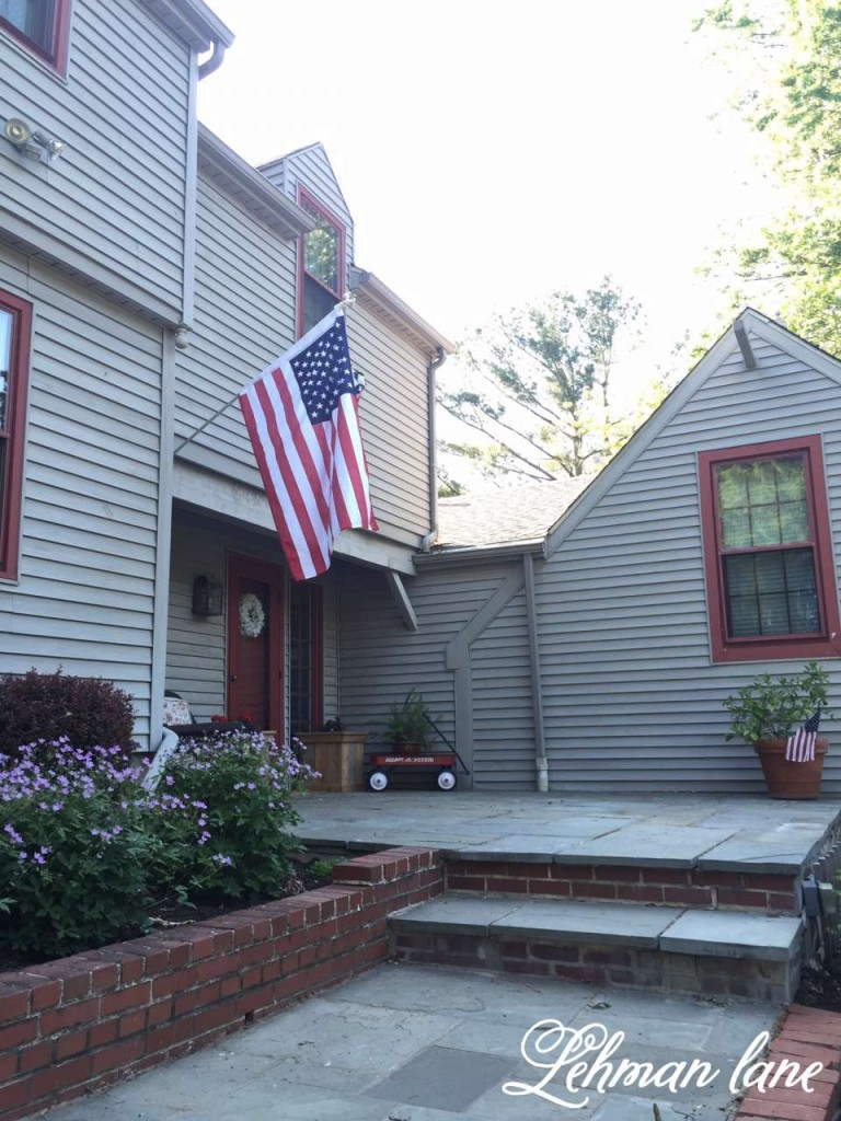 Our Patriotic Front Porch