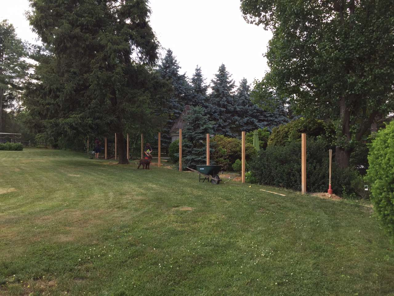 How to make a fence cedar post and rail lehman lane