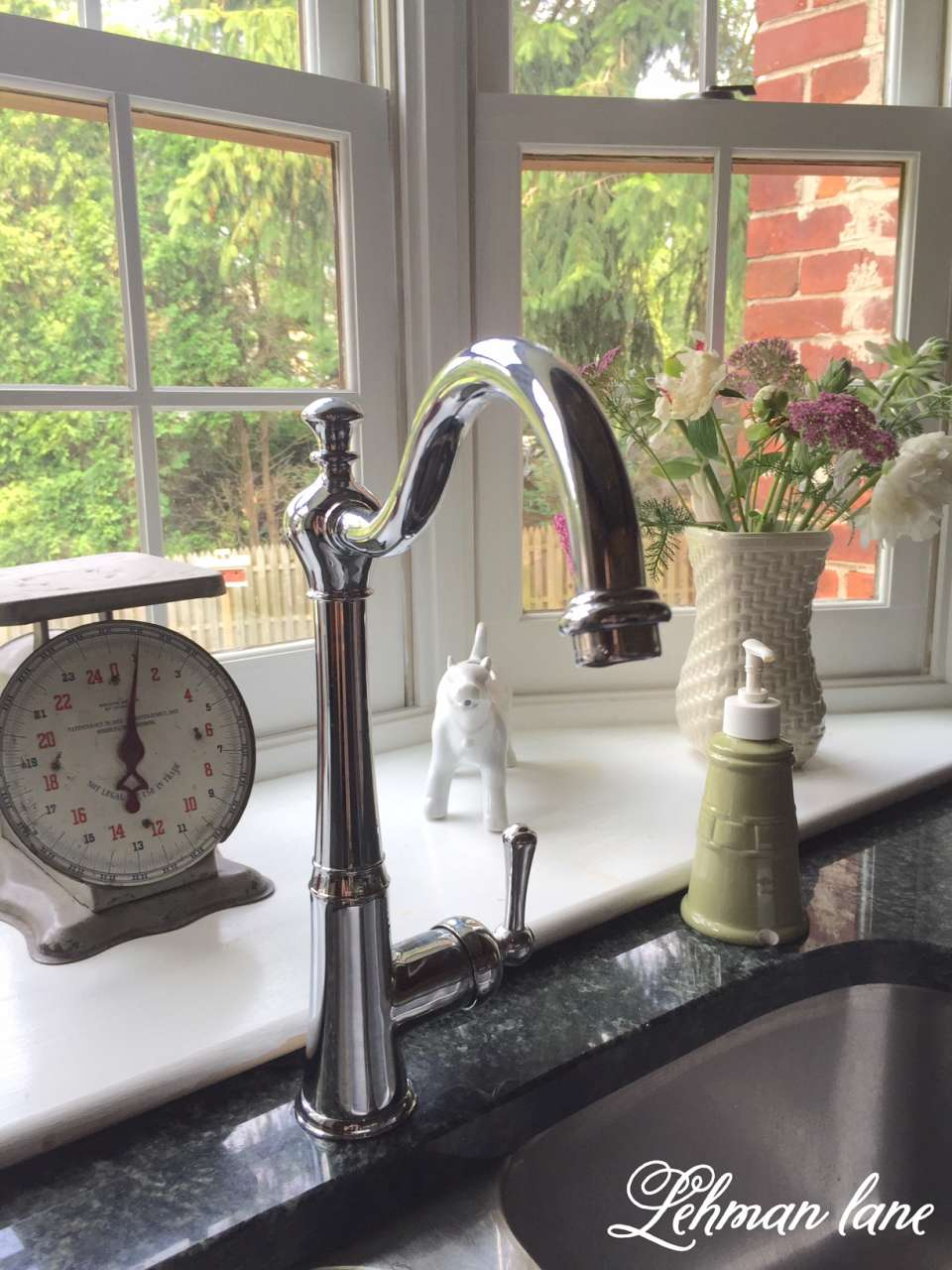 Our New Kitchen Faucet