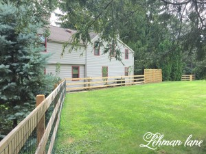 DIY: Post & Rail Fence - Moose Containment Done