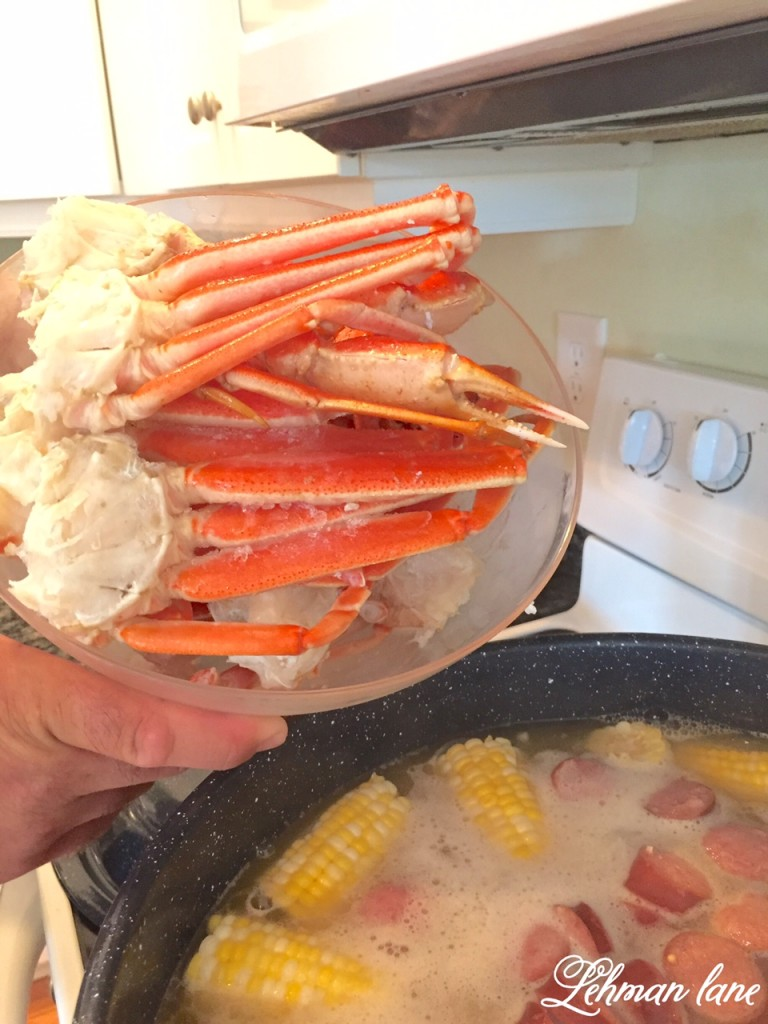 Crab and Shrimp Boil - Great Beach Dinner