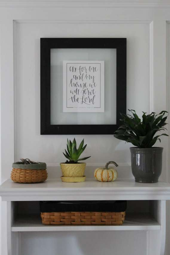 Foyer / Entryway Table DIY