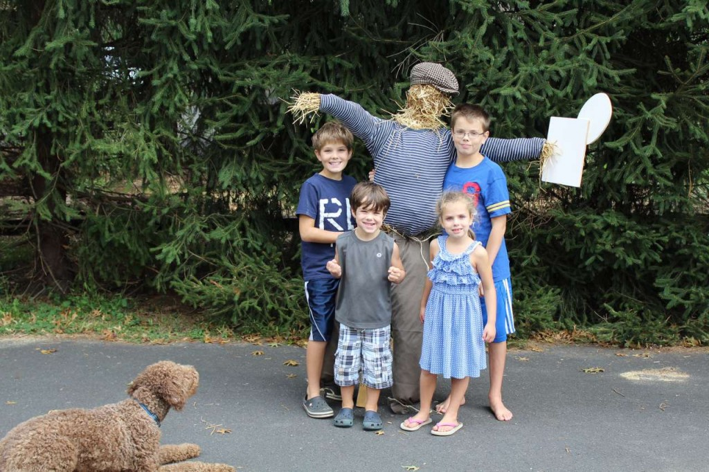 DIY - Scarecrows for Halloween