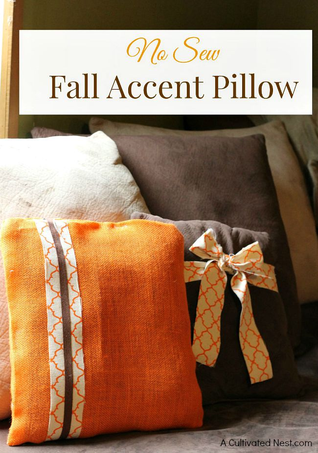 easy-diy-no-sew-fall-accent-pillow