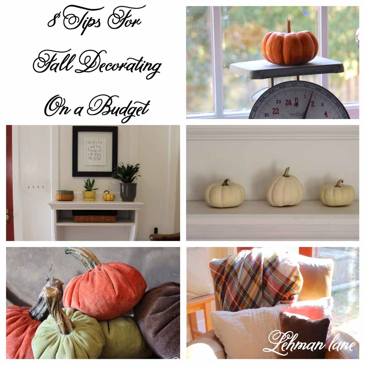 8 tips for fall decorating