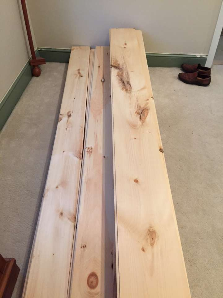 DIY Unfinished Wide Pine Floors & Review - Lehman Lane