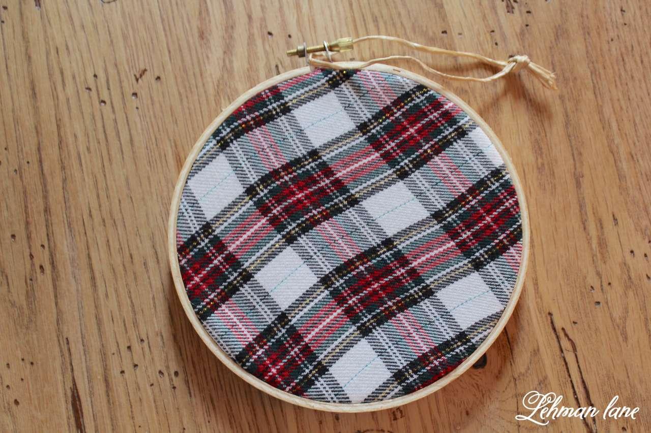 Diy embroidery hoop christmas ornaments ornament hop