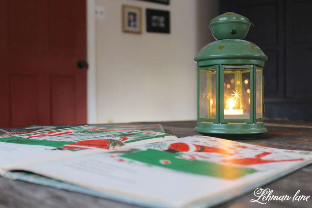 Christmas Home Tour 2015 lantern