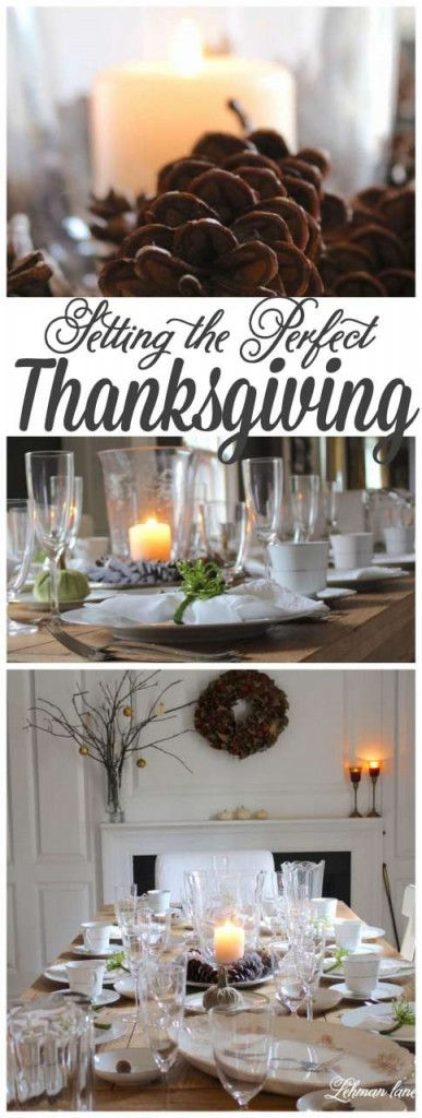 Sharing my simple and beautiful tips for sharing the perfect thanksgiving tablescape with your Thanksgiving guests #fall #thanksgiving http://lehmanlane.net