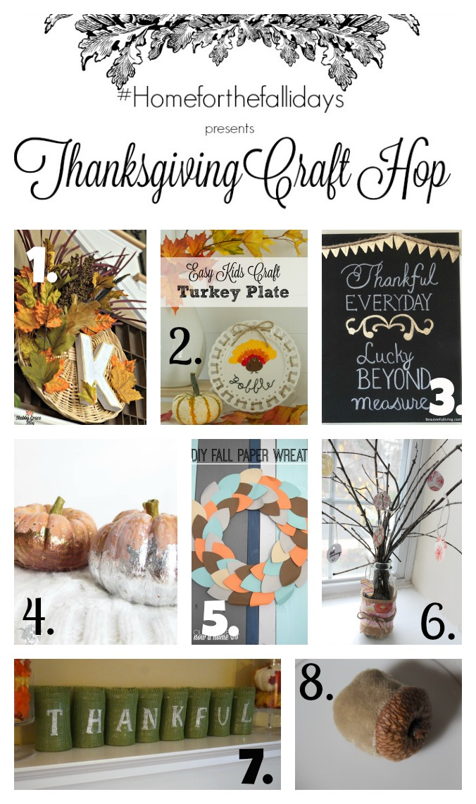 Thanksgiving Craft Hop