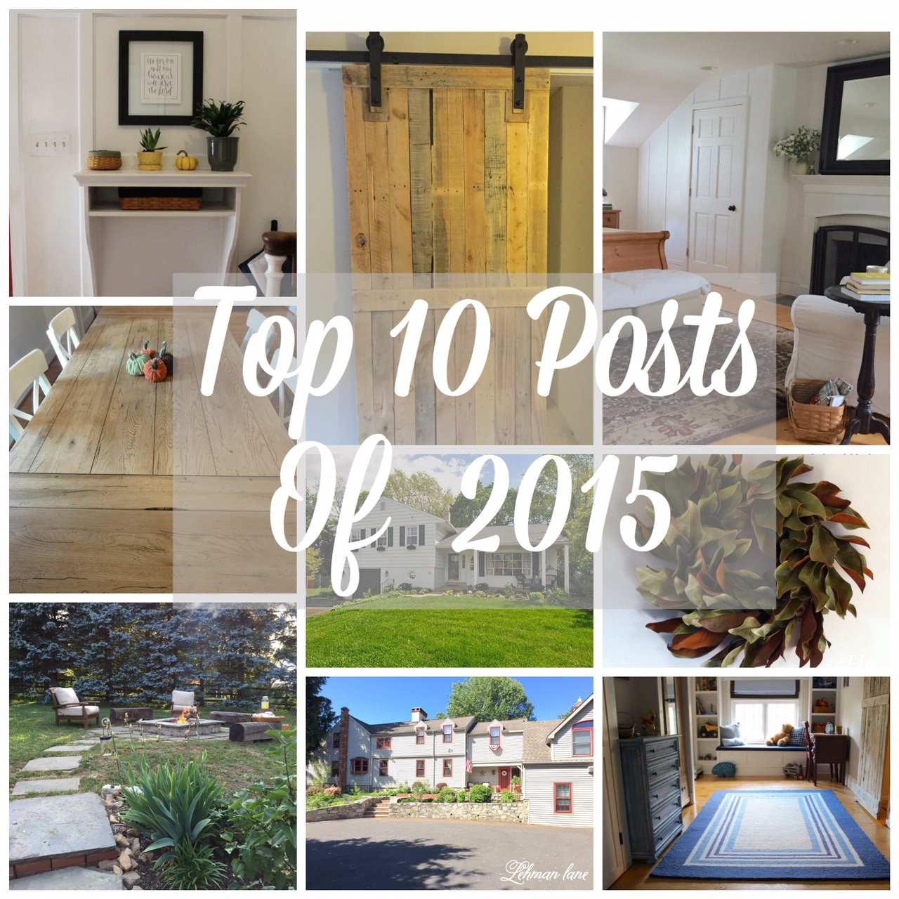 Come check out my Top 10 Posts of 2015