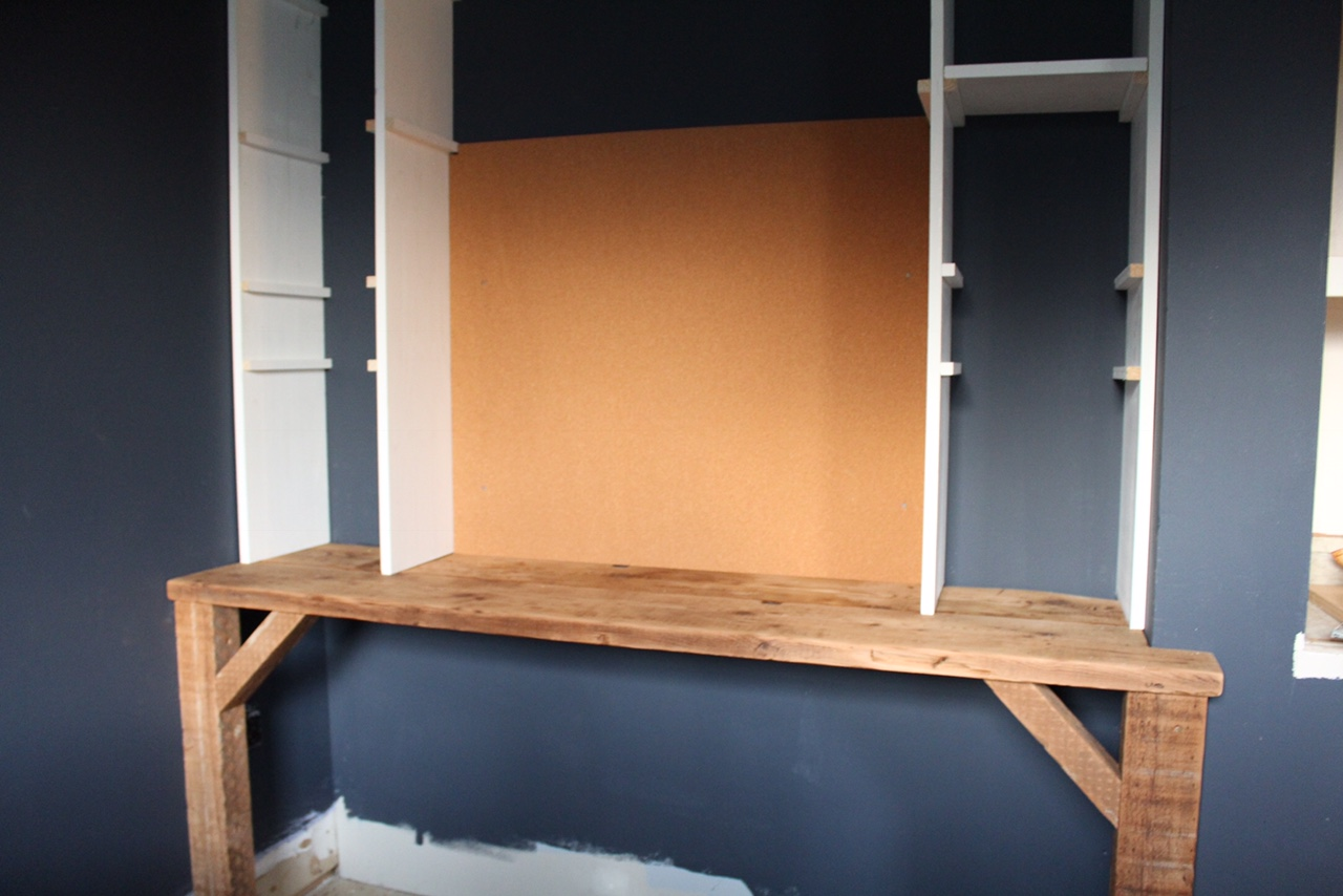 DIY - built in desk- Boys bedroom