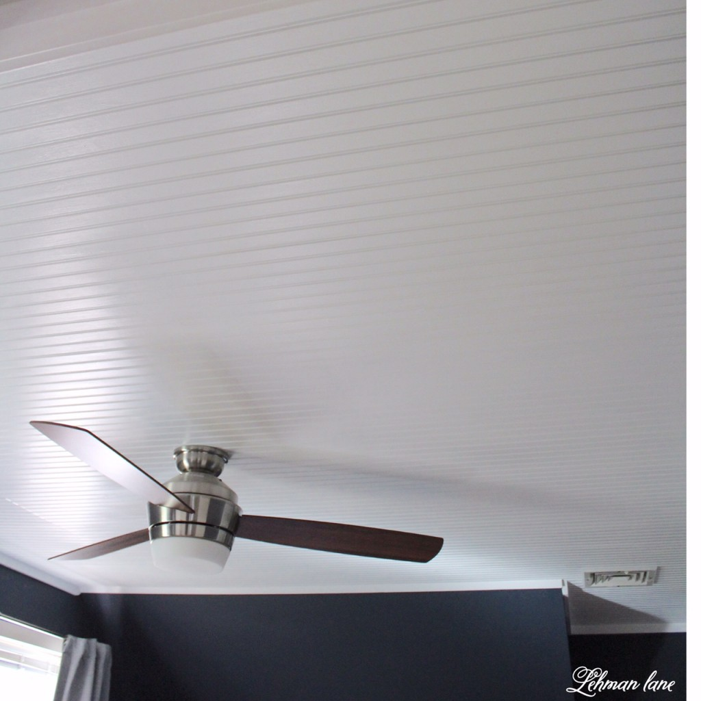DIY - Bead board Ceiling