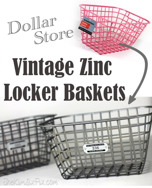 Dollar-Store-Vintage-Zinc-Locker-Baskets