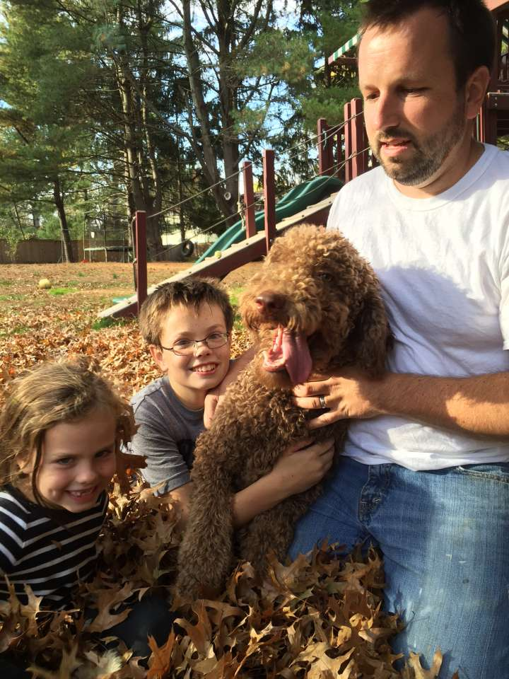 Our 1st Year with Moose, our Austrailian Labradoodle