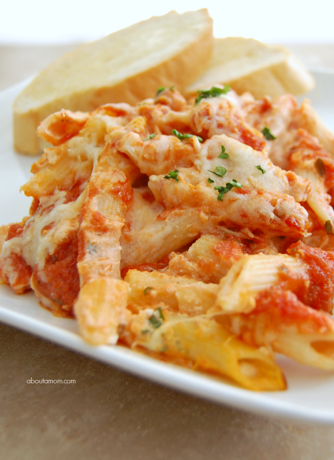 Classic-Baked-Penne-Pasta-with-Ricotta-Recipe