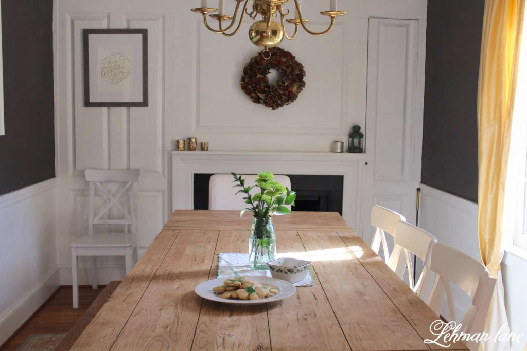 I am sharing my green St. Patrick's day tour with many of my blogging friends! Come check out how I decorated my house accented by shamrocks and green in the dining room