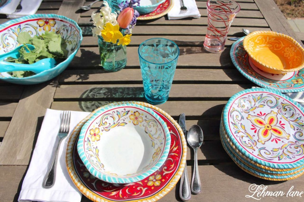 Patio Refresh - Spring Outdoor Tablescape #shop