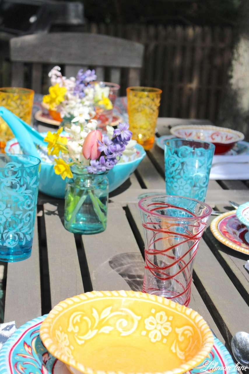 Patio Refresh - Spring Tablescape #shop