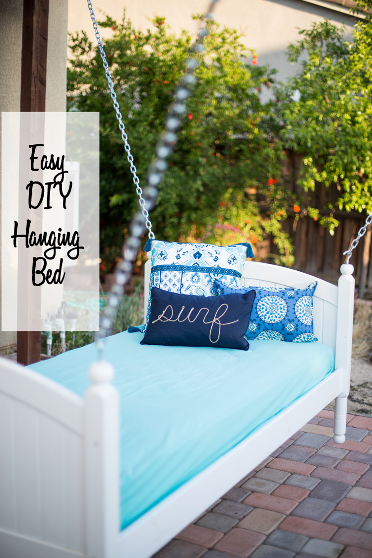 Easy-DIY-Hanging-Bed