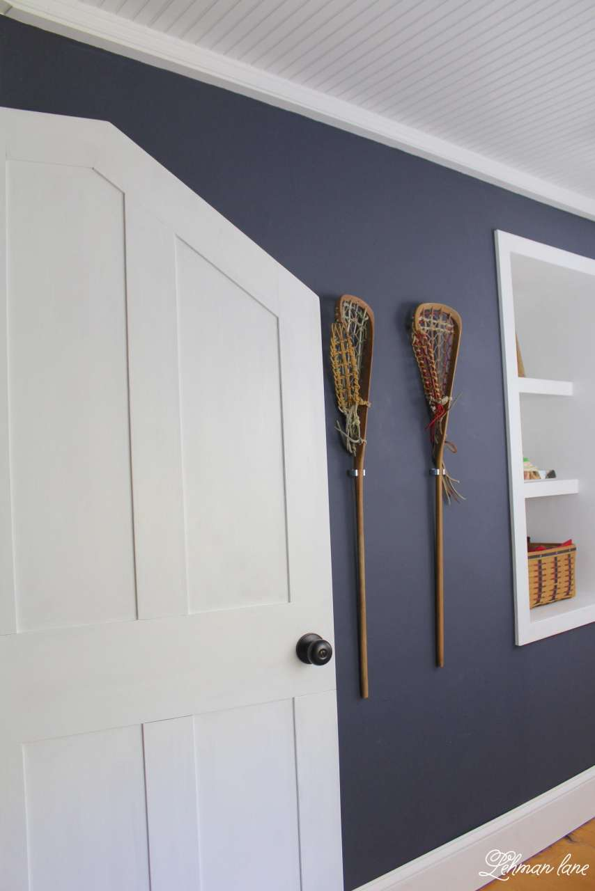 Diy How To Build An Angled Door One Room Challenge